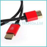 Cavo del Maschio-Maschio HDMI della spina placcato oro ad alta velocità V1.4