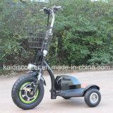 500W 3車輪の障害があるのための電気オートバイのハブモーター移動性のスクーター