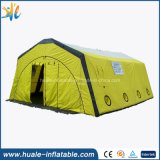 خيمة قابل للنفخ, قابل للنفخ يخيّم خيمة خارجيّة لأنّ طبّيّ خارجيّة