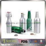 Алюминиевые бутылки пива с кронен