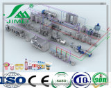 Vari generi del latte dei prodotti automatici dell'impianto di lavorazione di prodotti lattier-caseario