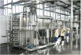 Cadena de producción de la cerveza de la botella de cristal relleno que se lava y capsular de 3 en 1 máquina