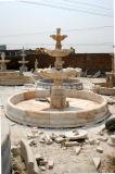 Fonte de água Home a três níveis do mármore do jardim para a venda (SY-F105)