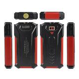 携帯用充電器のRavpower 10000mAhの出力3ポート力バンク外部電池のパック(2.4A入力、LCDスクリーンと、高密度李ポリマー電池