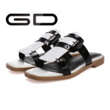 Poussoir confortable de cuir d'été de dames de mode de Gdshoe