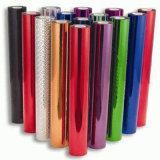 Folha de carimbo quente personalizada da cor para o papel/couro/matéria têxtil/telas/plásticos