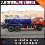 Vrachtwagen van het Vervoer van de Modder van de Vrachtwagen van de Mest van Dongfeng 6X4 18000L de Vacuüm Zuigende