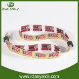 Bracelets magiques de tissu d'événement de polyester élevé de Quanlity