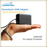 19.5V / 3.33A Laptop Compact Universal Smart Tiny Power Adapter Carregador de parede