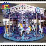Vente directe d'usine de carrousel de cheval d'imagination de 12 portées