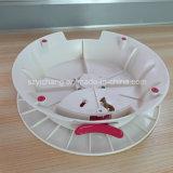 円形の回転プラスチックケーキのホールダー