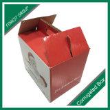 Giebel-Form-gewölbter Karton-Kasten, der frischen trockenen Frucht-Kasten verpackt