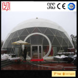 Da barraca 15m transparente do Octagon da barraca da abóbada do diâmetro 7.5m da barraca da abóbada barraca sextavada