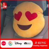 Het hete Hoofdkussen van Emoji van het Hoofdkussen van de Hals van de Auto van het Stuk speelgoed van de Douane van de Verkoop Zachte
