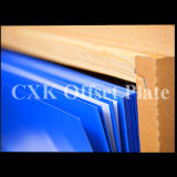 Plaque bleue d'impression offset d'enduit de Ctcp de longue impression