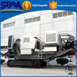 Hohe Kapazitäts-bewegliche Gleisketten-Zerkleinerungsmaschine-Pflanze