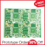 Tarjeta de la tarjeta de circuitos impresos de la alta precisión HDI