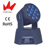 Wäsche-bewegliches Hauptstadiums-Effekt-Licht LED-12W