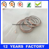 Espesor cinta de cobre conductora EMI/Rfi de la hoja de 0.07 milímetros que blinda la cinta