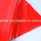 Кожа PU патента зеркала синтетическая для ботинок Hw-S1704 повелительниц