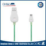 câble usb de remplissage assez personnalisé de 2.1A Fluxay
