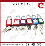 Mini cadenas coloré de sûreté de Xenoy avec la jumelle d'acier de 25mm