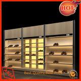 Coffret d'étalage de chaussure de présentoirs de chaussure
