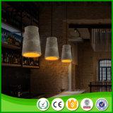 Modernes LED-konkretes hängendes Licht von China
