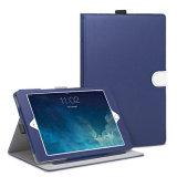 Caja colorida de la cubierta del cuero de la ranura para tarjeta del OEM para el aire 2 del iPad