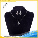 Customized High Quality Fashion Anchor Jewelry Set para Mulheres