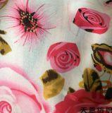 100% بوليستر [شفّون] بناء مركّب [شفّون] زهرة يطبع بناء لأنّ نساء ثوب