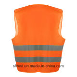 Тельняшка высокой безопасности видимости отражательная с ISO 20471 En