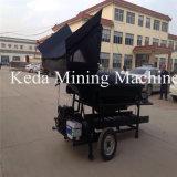Trommel portatif d'or d'extraction de l'or de machine de la Chine de fournisseur de rondelle alluviale d'écran