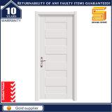 Porte en bois solide personnalisée en bois de mélamine de PVC d'intérieur