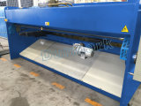 Машина листа металла CNC QC12k 16X4000 режа для листа алюминия вырезывания