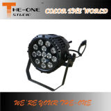 Color impermeable UV DMX PAR LED Luz al aire libre