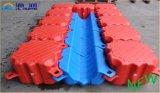 Модульного Китая пластичный понтон и горячего сбывания плавая
