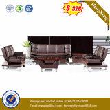 Sofa en cuir de Moder de meubles de 3+2+1 salles de séjour (HX-CS090)