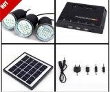 Солнечные домашние наборы осветительной установки с 3 электрическими лампочками СИД