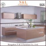N & L armadio da cucina prefabbricato della lacca di legno di faggio E1