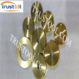 回された電気黄銅Pinの旋盤の部品