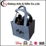 Pp multifunzionali sacchetto non tessuto del vino delle 6 bottiglie