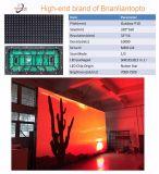 Alta definición P10 LED al aire libre a todo color que hace publicidad de la visualización