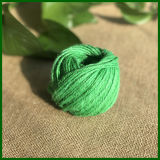 Guita teñida colorida del yute para la fabricación de la alfombra