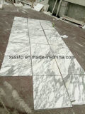 壁およびフロアーリングのためのギリシャArabescatoの大理石のタイルは磨いた