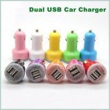 Lader van de Auto van de Lader van de Auto USB de Kleurrijke voor Mobiele Telefoon