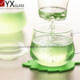300ml高品質のホウケイ酸塩の耐熱性ガラスコップセットか単一の壁のセットされるガラスティーカップのマグまたは花の活気づくガラスコップセット