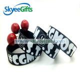 Fabricante de China do bracelete do silicone da alta qualidade