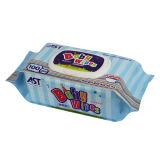 Os Wipes descartáveis do bebê, Wipes secos, DIY molharam os Wipes, 100% biodegradável