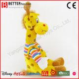 Het hete Speelgoed van de Baby van de Giraf van de Dieren van de Verkoop Leuke Gevulde